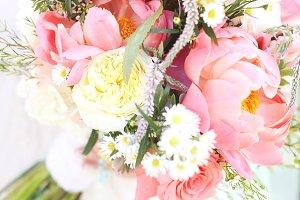 Happy Peony bouquet