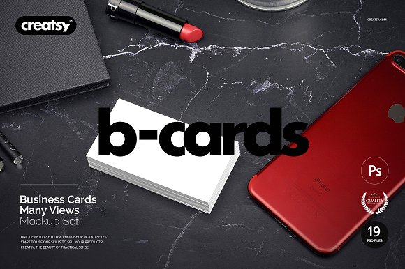 Business Cards Mockup Set-Graphicriver中文最全的素材分享平台