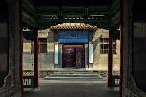 Entrance of some chinese shrine