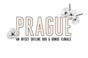 Prague | Font Duo + Florals