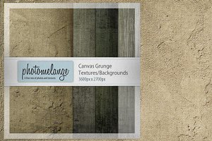PhotoMelange Canvas Grunge Texture Kit