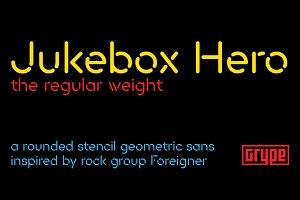 Jukebox Hero - Regular