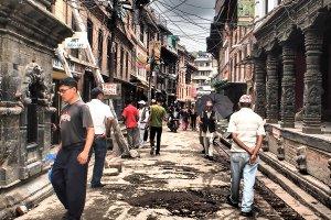 Street in Nepal