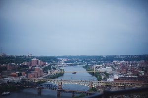 Pittsburgh Bridges & Skyline
