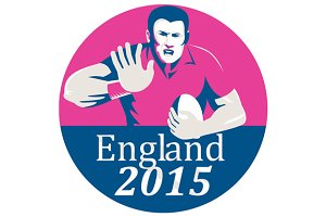 Rugby Player Fending England 2015 Ci