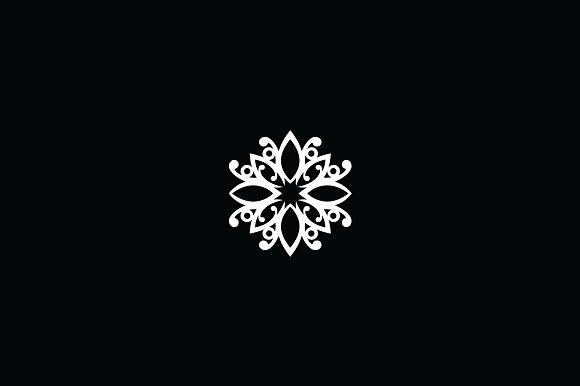healthy flower crest logo template logo templates creative market