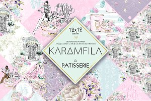 La Patisserie Patterns