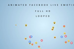 Facebook Live Video Emotions pack