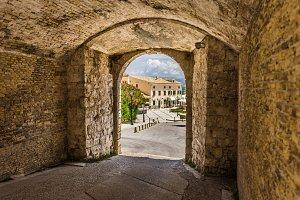 Faliraki area at Corfu