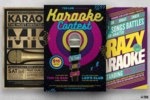 Karaoke Flyer Bundle V2