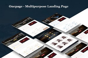 Onepage - Multipurpose Landing Page