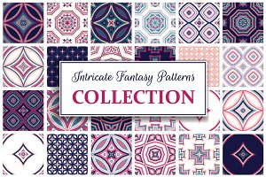 Intricate Fantasy Patterns Set