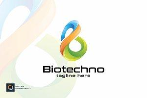 Biotechno / B - Logo Template