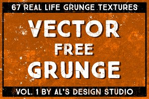 Vector Free Grunge Vol. 1