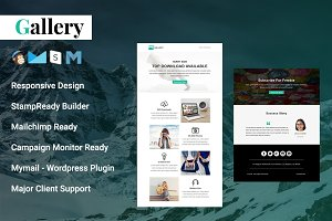 Gallery - Responsive Email Template