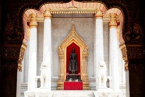 Buddhist church.