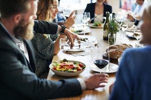 Business Meeting Dinner