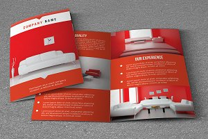 Interior Brochure Template-V754