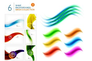 Mega collection of swirls and waves