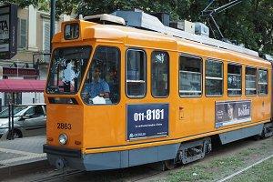 Tram in Turin