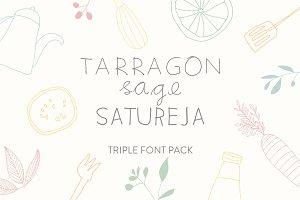 Tarragon, Sage & Satureja