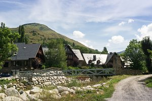 landscapes in pyreneus