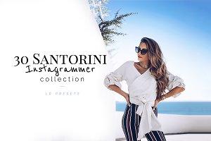 30 Santorini Instagrammer Lr Presets