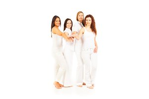 4 Beautiful Ladies