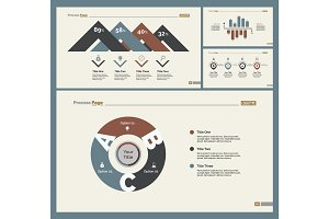 Four Accounting Slide Templates Set