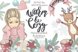 Warm & Cozy Hand-painted collection