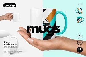 Mug Mockup Set