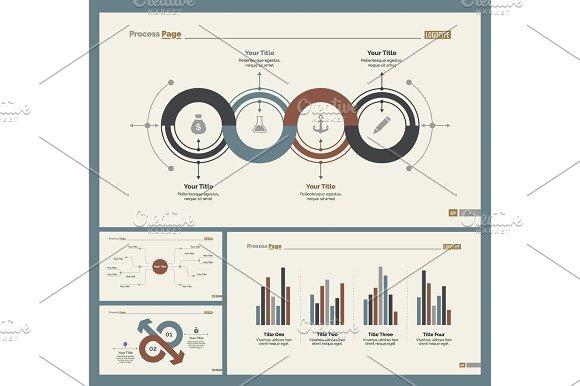 Four Economics Slide Templates Set