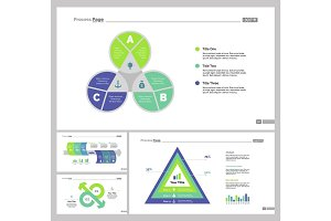 Four Finance Slide Templates Set