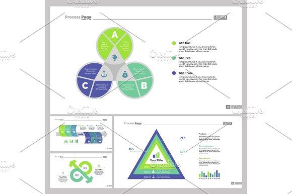 Four Finance Slide Templates Set