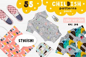Childish patterns pack vol. 2