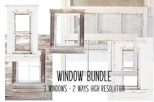 Barn Window bundle! Farmhouse