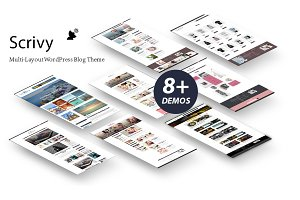 50% OFF Scrivy - WordPress Theme