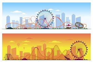Luna park concept