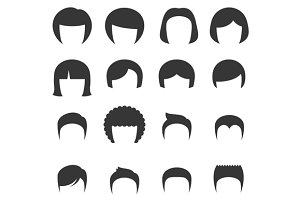 Woman and Man Hair Set