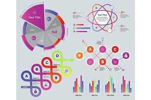 Presentation diagrams set