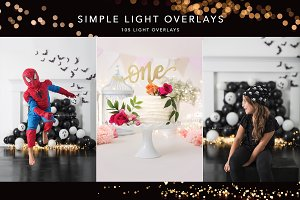 Simple Studio Light Overlays