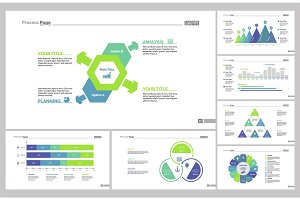 Seven Marketing Slide Templates Set