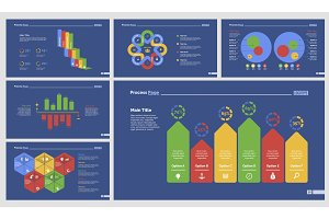 Six Accounting Slide Templates Set