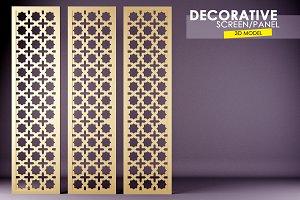 Decorative Wall Screen 3D model