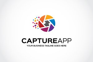 capture app Logo Template