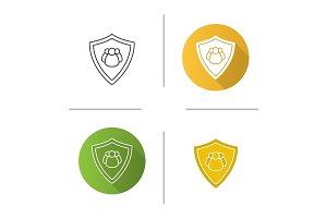 Users protection icon