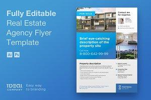 Real Estate Flyer Design – Fortress