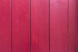 Red wood panels