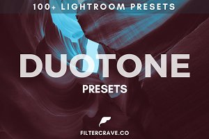 100+ Duotone Lightroom Presets Vol I