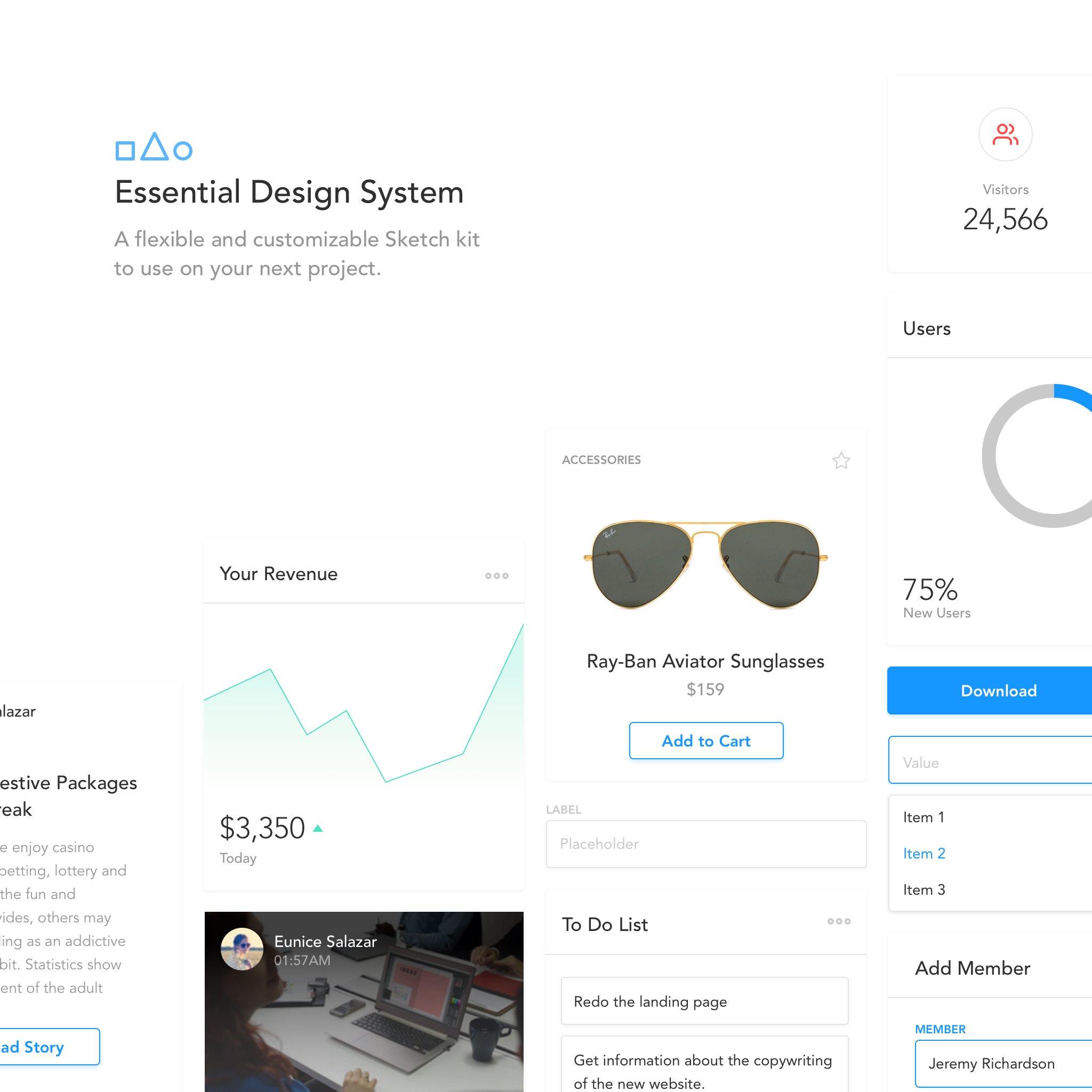 Essentials Design System